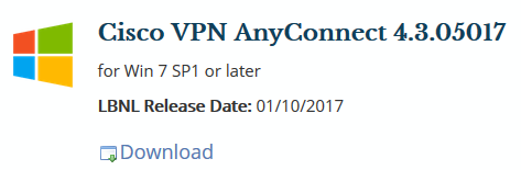 How to install VPN client - IT Frequently Asked Questions
